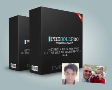 PreSold Pro Plugin: Never Struggling To Generate Affiliate Commissions Again